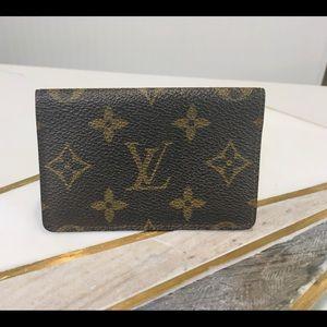 Extra pics card case for Louis Vuitton card case